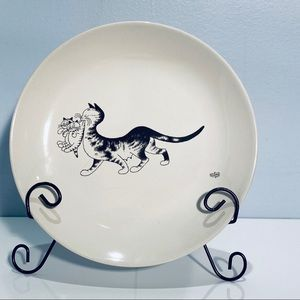 Dubout 2003 Editions Clouet Cat Plate